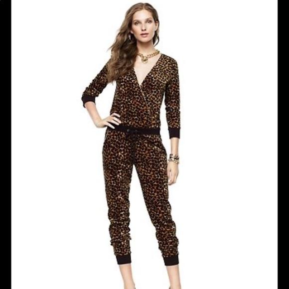 Juicy Couture Pants - BNWT Juicy Couture Leopard Jumpsuit